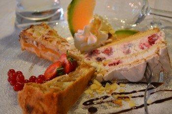 Hausgebackene Kuchen und Torten