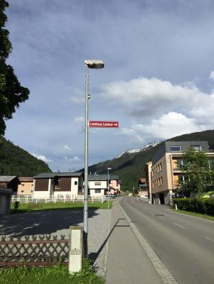 Einfahrt Landhaus Lackner