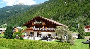 Das idyllisch gelegene Landhaus