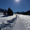 Wanderweg nach Tiefenbach