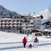 Winterwanderweg beim Landhotel Tirolerhof