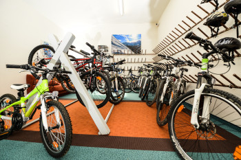 Mountainbike Garage