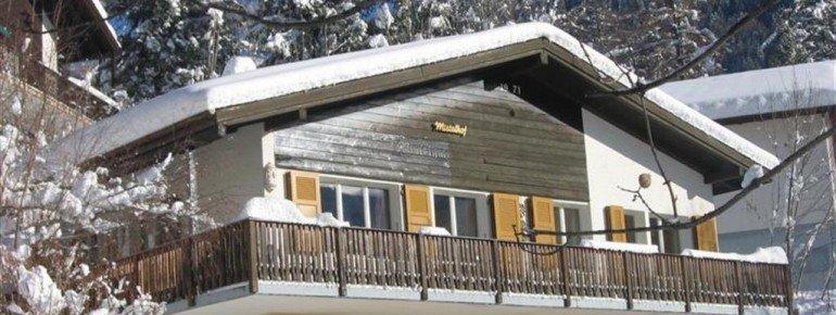 Chalet Mistelhfo im Winter