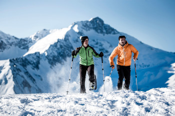 Schneeschuhwandern im Ahrntal