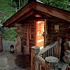 Sauna-Blockhütte im Hüttendorf Maria Alm