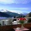 freier Blick vom sonnigen Südwest-Balkon
