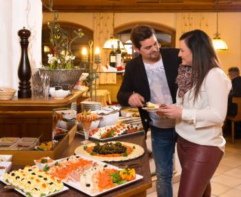 Salat und Vorspeisenbuffet