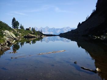 Der Spiegelsee auf der Reiteralm