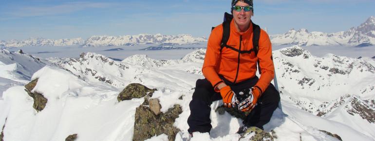 Skitouren im Skigebiet Akade