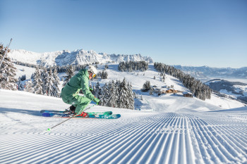 Perfekte Pisten in der SkiWelt