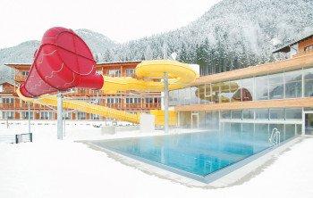 Kinderhotel Buchau im Winter