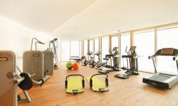 Fitnessbereich im Kinderhotel Buchau