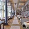 Panorama-Restaurant mit Licht- und Raummilieu-Konzept