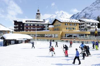 Winter in Lech