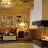 Gemütliche Lobby im Romantik Hotel in Lech