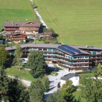 Schatzberg-Haus im Sommer