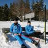 Skisport nordisch und alpin