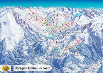 Skigebiet Kuehtai - Hochoetz