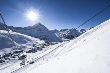 Skigebiet Kühtai ab 2020m