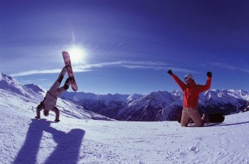 Skifahren in Hochfügen, Zillertal