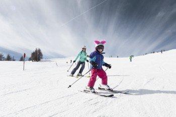 Pistenspaß für große und kleine Skihaserl im Skigebiet Sillian Hochpustertal