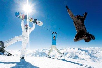 Wintersport im Tuxertal