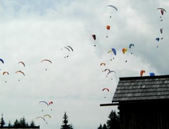 Ein Paradies für Paragleiter und Drachenflieger
