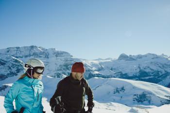 Skigebiet 210km Piste