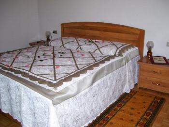 Eines der Schlafzimmer der Ferienwohnungen