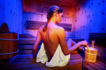 Entspannen in der Finnischen Sauna