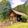 Selbstversorgerhütte im Sommer, 3 Kilometer vor den Wilden Wassern