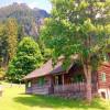 Waldhäuslhütte im Sommer mit Griller