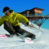Das Skigebiet zum einsteigen auf die Piste ist nur 8 km von der Hütte entfernt.