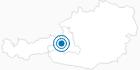 Skigebiet Hinterreit in Saalfelden-Leogang: Position auf der Karte