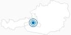 Skigebiet Goldegg - Buchberg im Salzburger Sonnenterrasse: Position auf der Karte