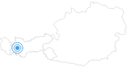Ski Resort Venet in Tyrol West: Position on map