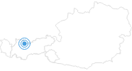 Ski Resort Ehrwalder Almbahn in the Tyrolean Zugspitz Arena: Position on map