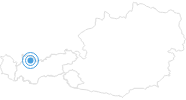 Ski Resort Berwang - Bichlbach in the Tyrolean Zugspitz Arena: Position on map