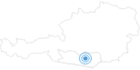 Ski resort Simonhöhe Regional experience Hochosterwitz - Kärntenmitte: Position on map