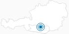Ski Resort Flattnitz Regional experience Hochosterwitz - Kärntenmitte: Position on map