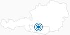 Skigebiet Innerkrems in der Region Nockberge Bad Kleinkirchheim: Position auf der Karte