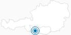 Skigebiet Weissensee in Nassfeld-Pressegger See - Lesachtal - Weissensee: Position auf der Karte