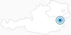 Skigebiet Mönichkirchen - Mariensee in den Wiener Alpen in Niederösterreich: Position auf der Karte