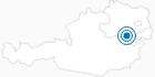 Ski resort Puchberg am Schneeberg in the Vienna Alps in Lower Austria: Position on map