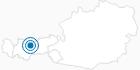Skigebiet Hinterfeldlift in Mösern in der Olympiaregion Seefeld: Position auf der Karte