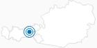 Skigebiet Hochfügen im Zillertal: Position auf der Karte