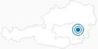 Skigebiet Fischbach Skilifte in der Oststeiermark: Position auf der Karte