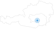 Ski resort Reitingerlift Weißkirchen : Position on map