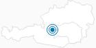 Skigebiet 4 Berge Skischaukel (Planai/Hochwurzen/Hauser Kaibling/Reiteralm) in Schladming-Dachstein: Position auf der Karte