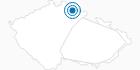 Skigebiet Strazne Tschechisches Riesengebirge: Position auf der Karte